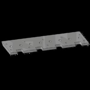 Bottom clamp 852 mm