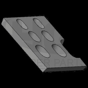 Bottom clamp (left)