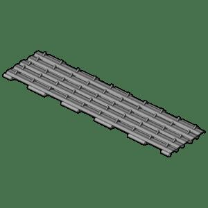 Conveyor belt (49 segments)