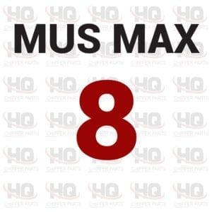 MUS-MAX 8