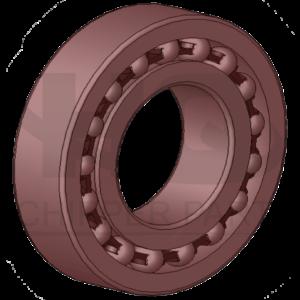 Bearings, rubber rings