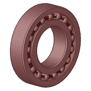 Bearings, rubber rings